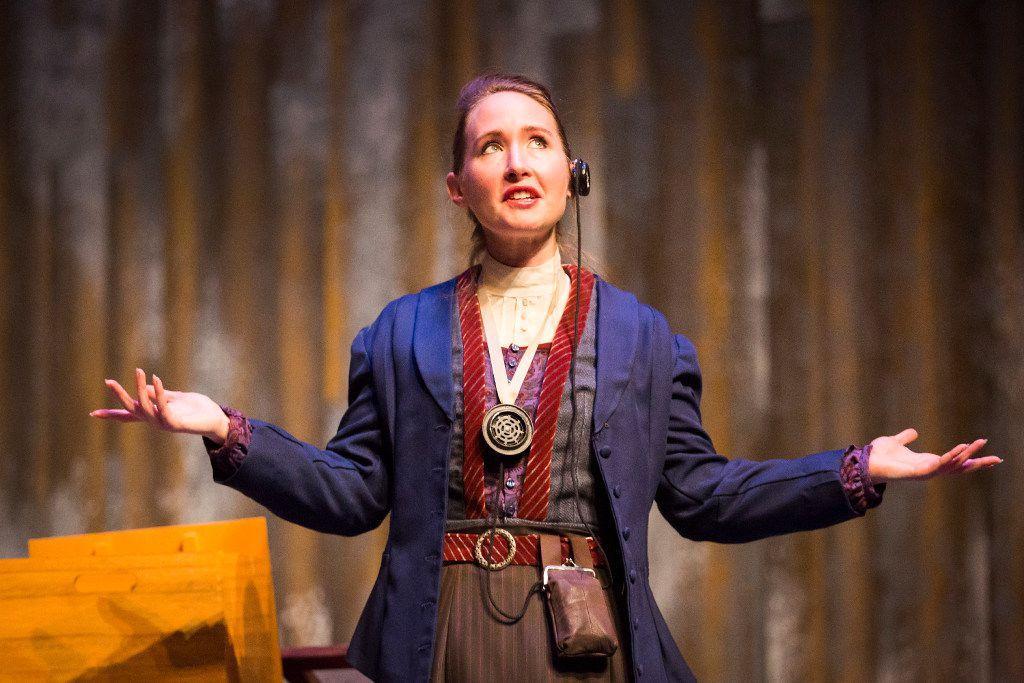 Anastasia Munoz stars as Henrietta Leavitt in the regional premiere of Lauren Gunderson's Silent Sky at WaterTower Theatre in Addison.