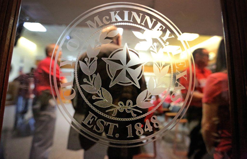 McKinney City Council chambers