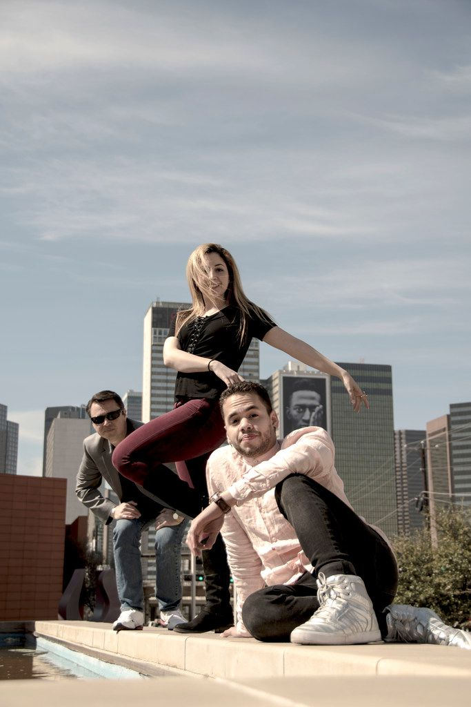 From left: Carter Alexander, Hailey Von Schlehenried and Albert Drake are the choreographers behind AKA:ballet, a project to create six new works premiering July 27 at the Latino Cultural Center.