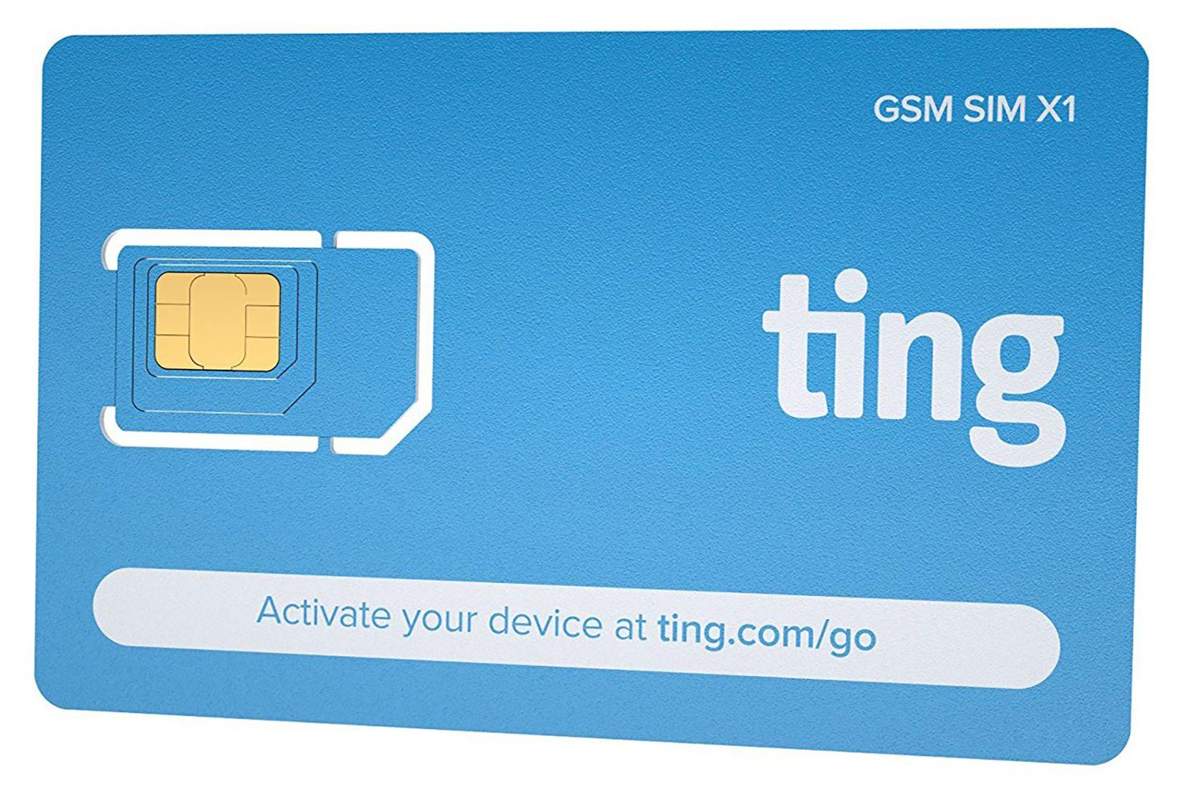 Ting Mobile SIM starter kit