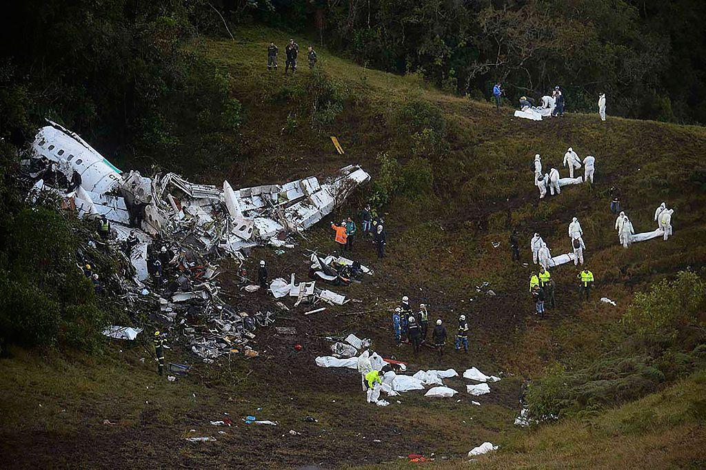 Helio Nieto es uno de seis sobrevivientes del fatal accidente. Foto GETTY IMAGES