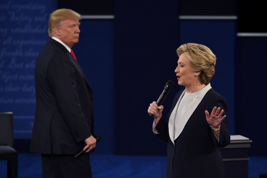Some analysts speculated that increasing public distaste for the bitter tone of the presidential campaign may have partially contributed to the drop in viewership for Sunday's Donald Trump-Hillary Clinton debate.