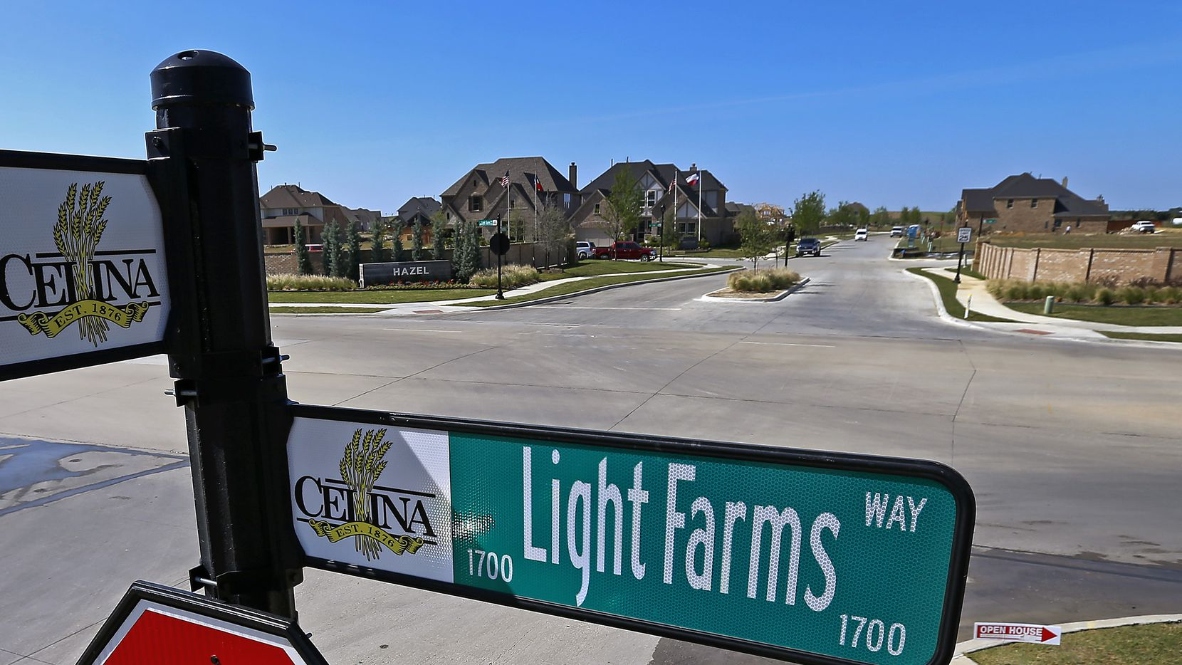 Startup builder Tradition Homes is building its first neighborhood in Celina's Light Farms community.