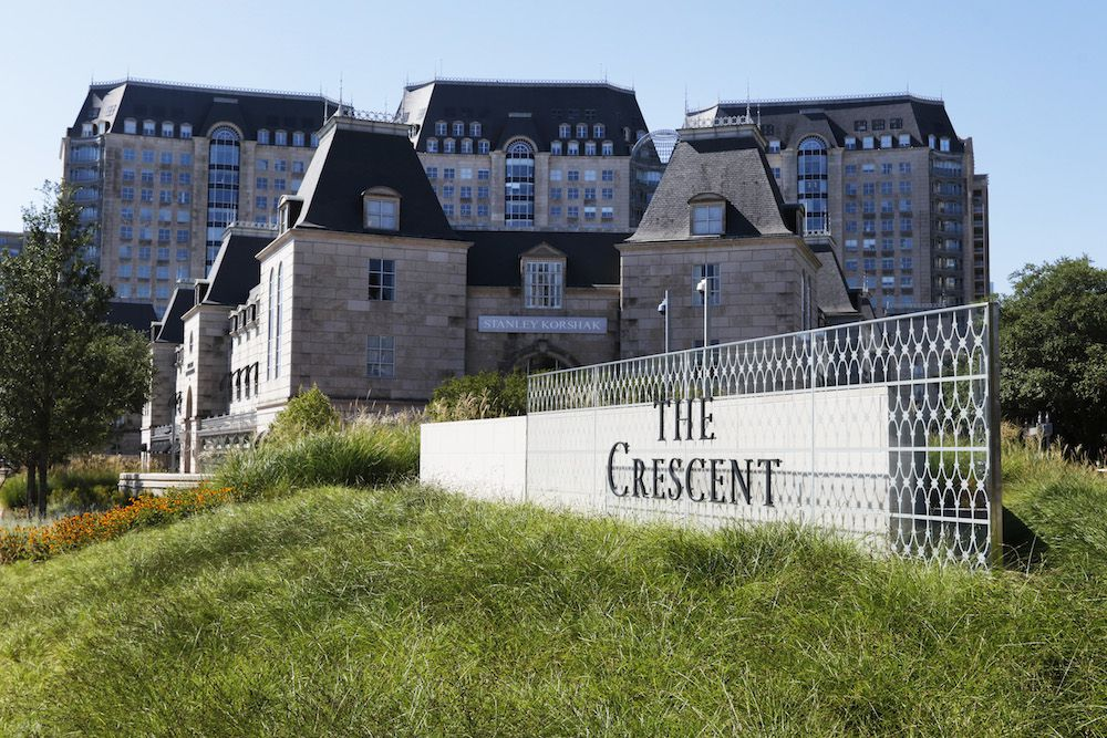 The 30-year-old Crescent complex just got a $33 million makeover.
