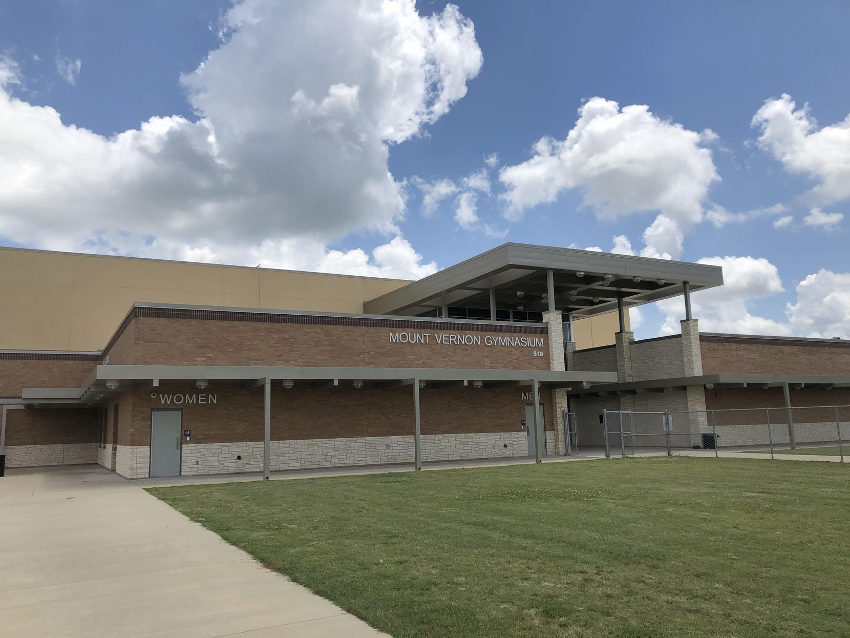 Mount Vernon, TX - Outside of Mount Vernon High School on Saturday, May 25. 2019