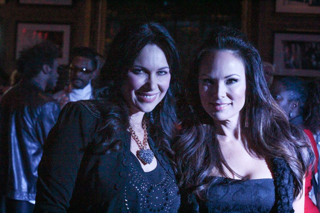 LeeAnne Locken and Tiffany Hendra at Fashionistas Friday at Fedora in One Arts Plaza on Jan 10, 2014. See below for more on Locken.