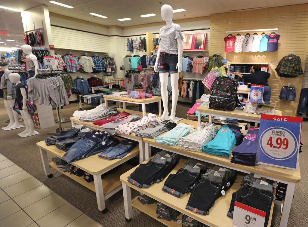 File photo of the kids apparel displays at the J.C. Penney store at Stonebriar Centre in Frisco, Texas. (Louis DeLuca/The Dallas Morning News)