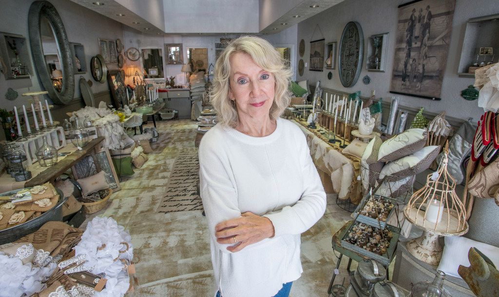 Lynn Teeling has moved from Canton's First Monday Trade Days to a pop-up space, Sweet Pickins, in Dallas. (Robert W. Hart/Special Contributor)