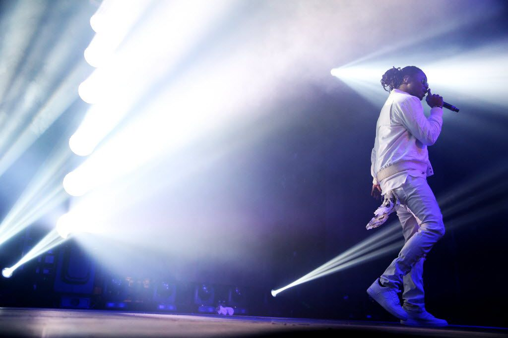 Future performs at South Side Ballroom in Dallas Friday March 11, 2016. (Andy Jacobsohn/The Dallas Morning News)