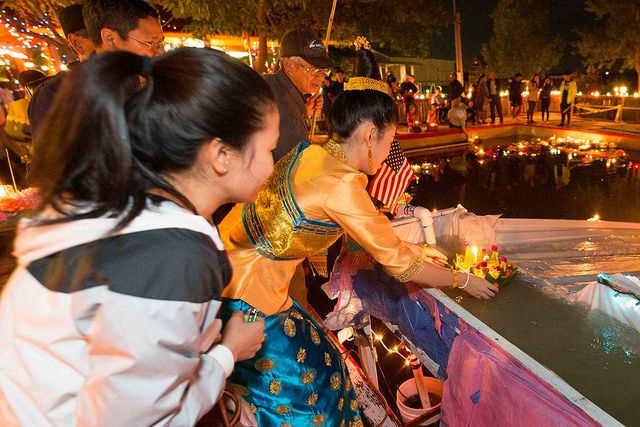 The Wat Lao Rockwall celebrated the Lantern of Lights Festival to mark the end of Buddhist Lent on Saturday. Photos by Jarvis Jacobs/Special Contributor.