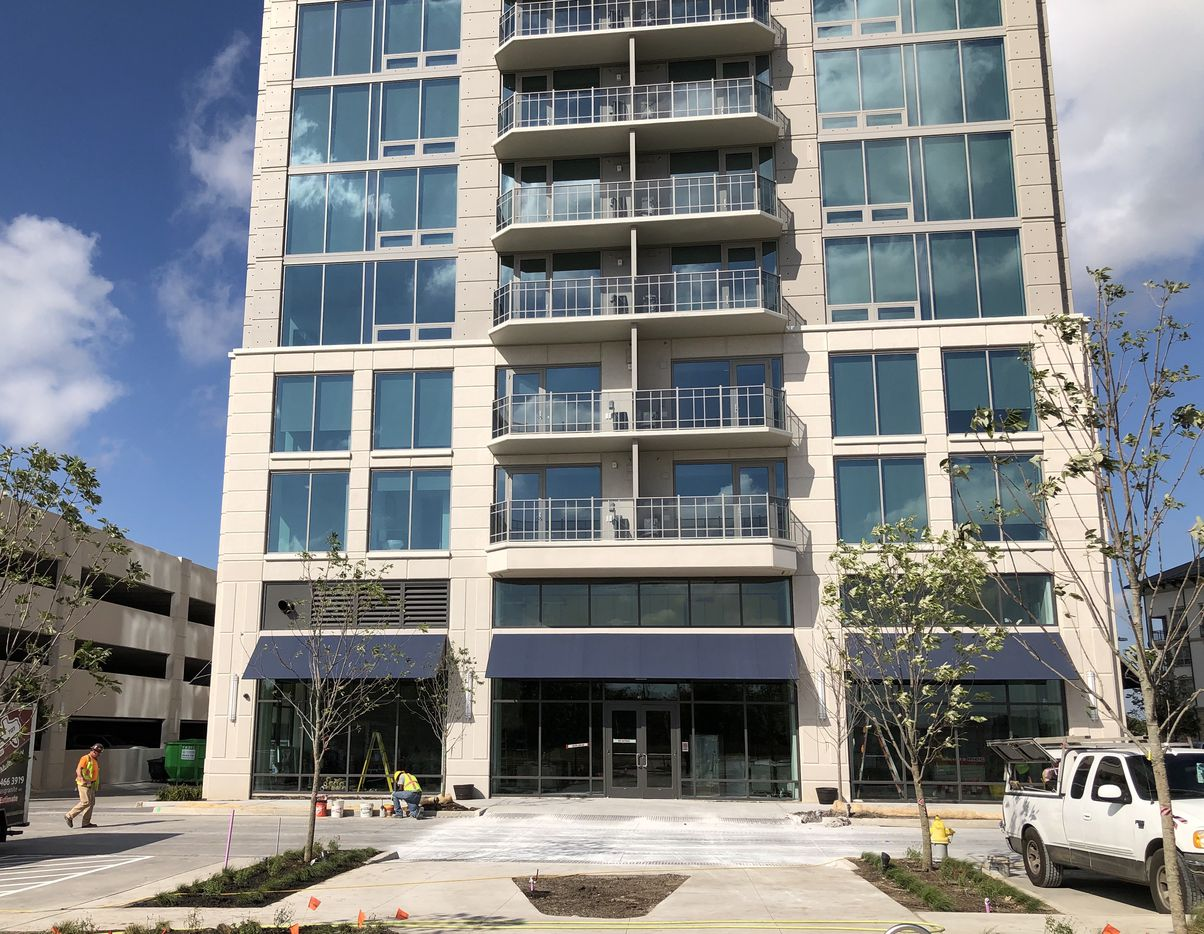 The ground floor of the SkyHouse Frisco Station will include a restaurant or retail tenant.