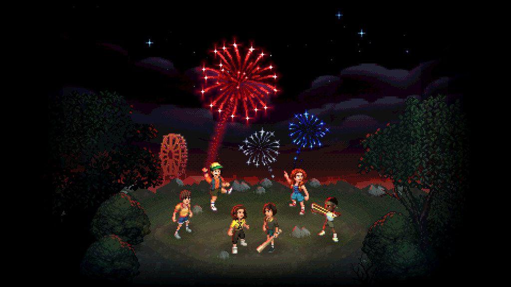 """Art from """"Stranger Things 3: The Game,"""" developed by Allen-based game developer BonusXP."""
