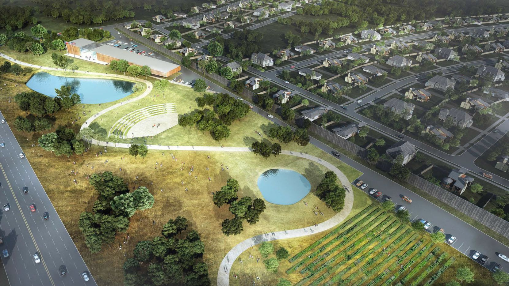 The Princeton Crossroads project will include housing, retail and open space.