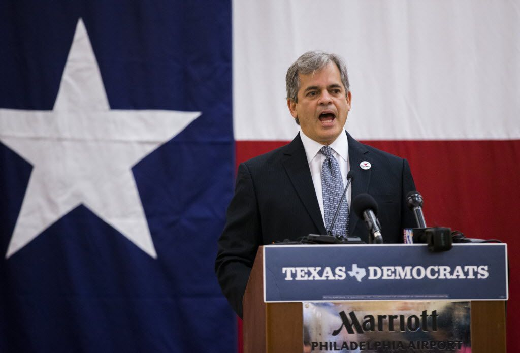"""Austin Mayor Steve Adler on Monday defended the immigration policies in Travis County: """"We do that because it keeps our community safer."""" (Ashley Landis/The Dallas Morning News)"""