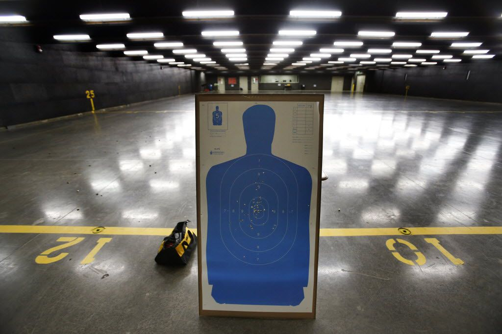 A target showed the accuracy of an educator training in 2014  to be among the first Texas school marshals.