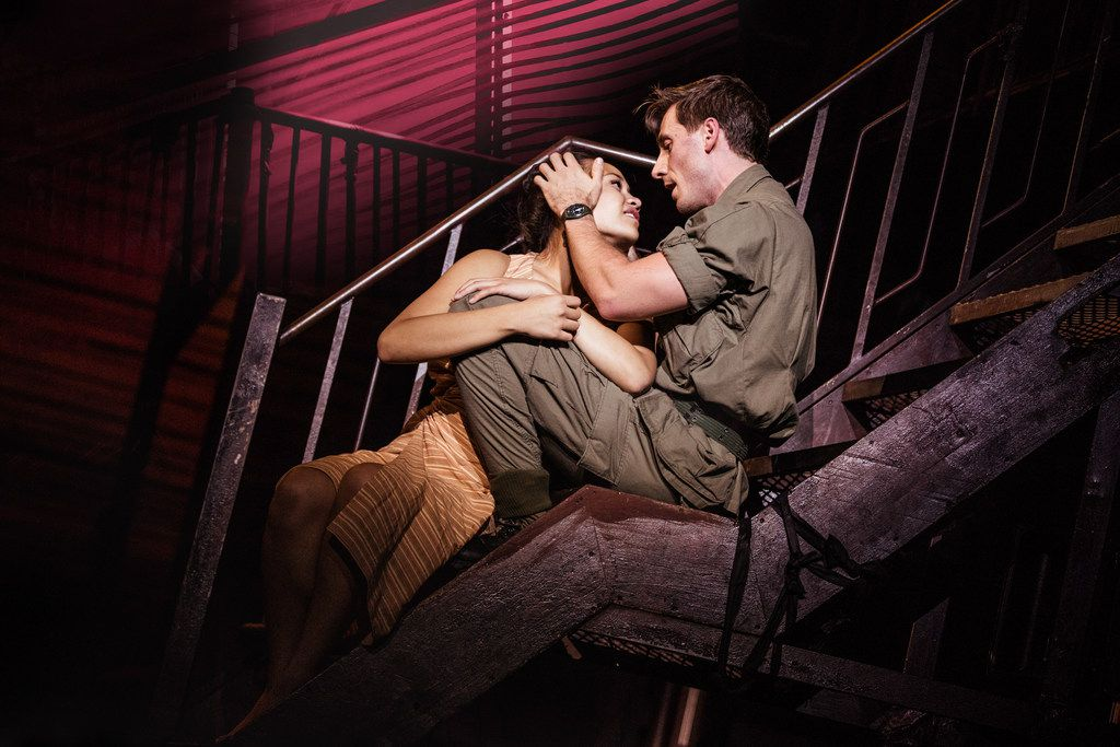 A scene from Miss Saigon, playing in May 2019 at the Music Hall at Fair Park. It is a Dallas Summer Musicals production.