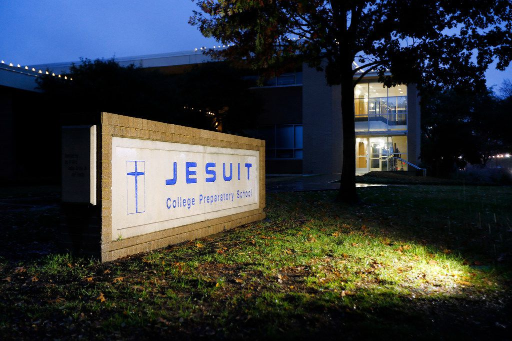 The Jesuit College Preparatory School in Dallas, Friday, December 7, 2018.