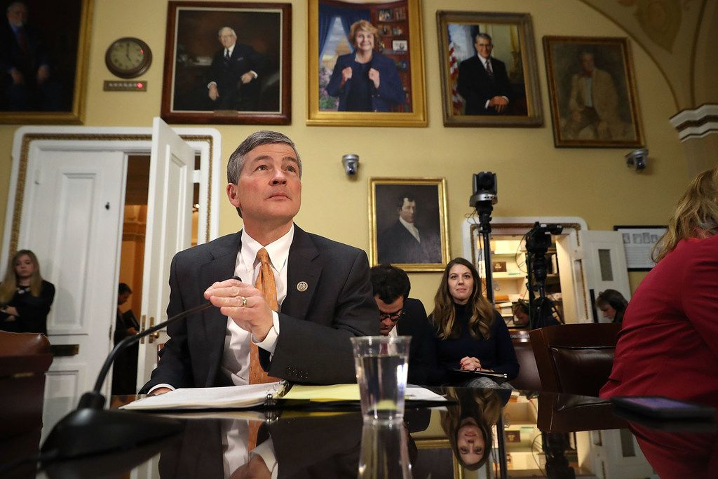 House Finance Committee Chairman Jeb Hensarling (R-TX) prepares to testify before the House Rules Committee at the U.S. Capitol December 18, 2017 in Washington, DC. (Photo by Chip Somodevilla/Getty Images)
