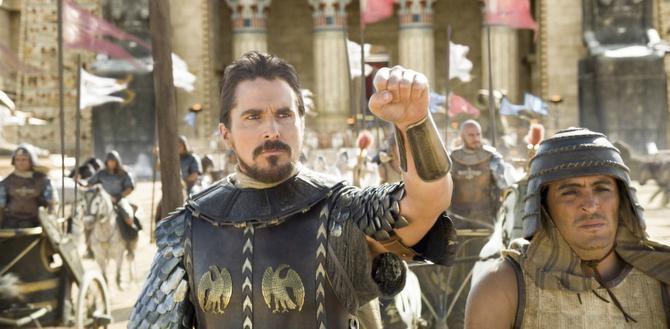 """Christian Bale interpreta a un Moisés guerrero en """"Exodus: Gods and Kings"""". (CORTESÍA/2Oth CENTURY FOX)"""