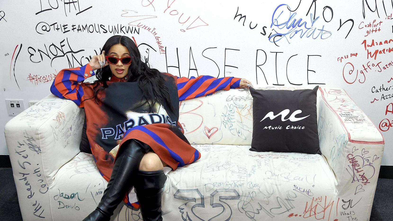 La rapera Cardi B ha hecho duetos con J Balvin y Bad Bunny. (Getty Images/Jamie McCarthy)