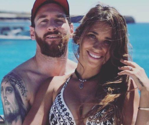 Lionel Messi y su pareja Antonella Roccuzzo esperan un tercer hijo. Foto Instagram Antonella Roccuzzo.