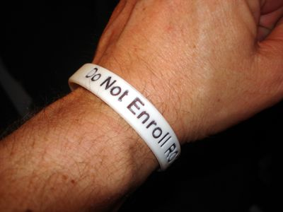 If you wear one of these bracelets, paramedics know not to enroll you in the non-consent medical study. But how do you get them? The Watchdog shows you.