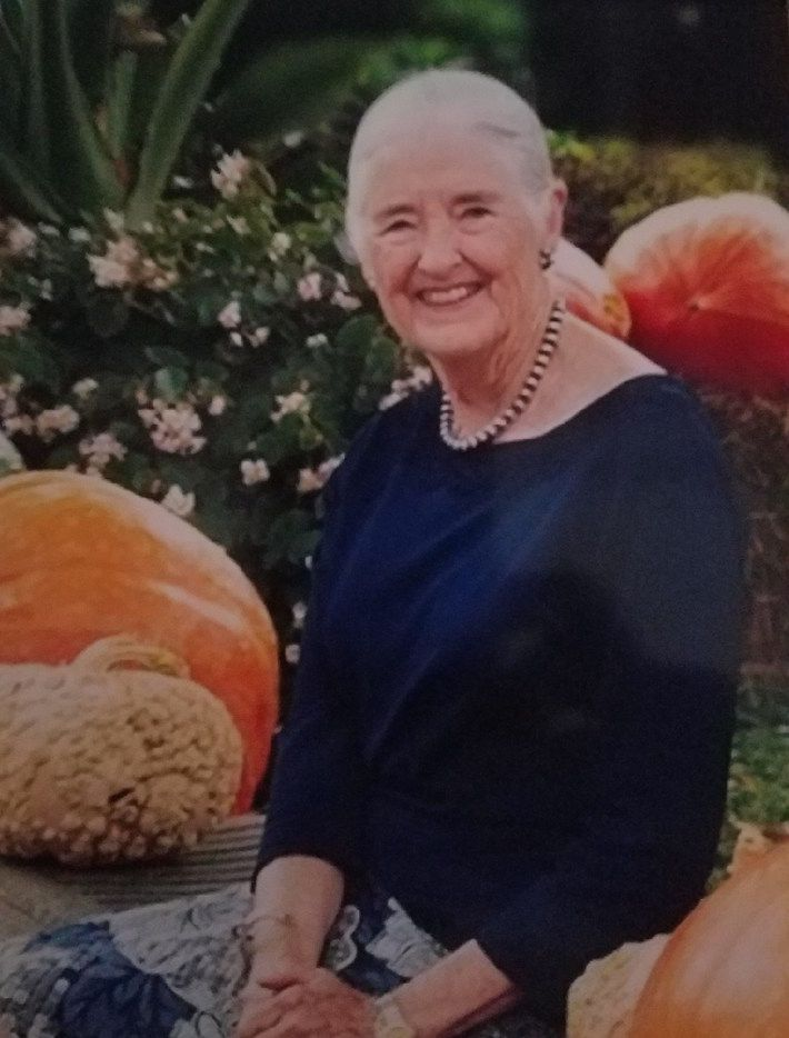 Chandler Roosevelt Lindsley, a granddaughter of former President Franklin D. Roosevelt and Eleanor Roosevelt, died July 19 doing what she loved most: working in her garden. She was 84. (Lindsley family)