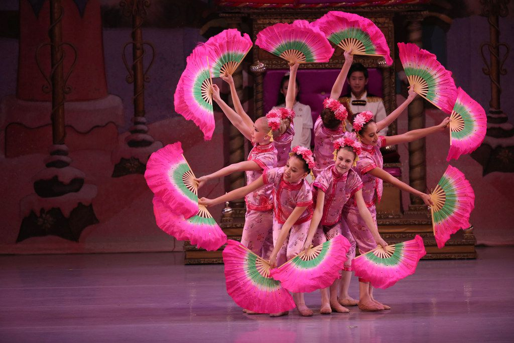 Chamberlain Performing Arts students perform in The Nutcracker at the Eisemann Center in Richardson on Nov. 25.