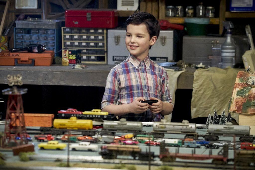 This image released by CBS shows Iain Armitage in a scene from Young Sheldon, premiering Sept. 25 on CBS.
