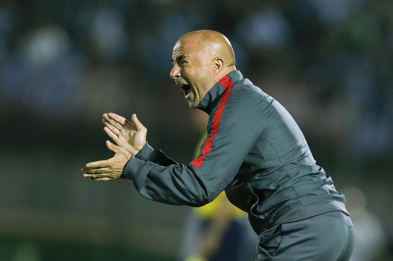 Jorge Sampaoli está sin equipo. (AP/VÍCTOR R. CAIVANO)