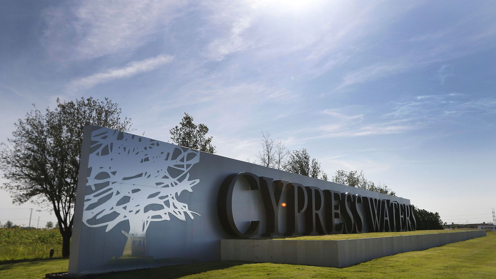 Cypress Waters is home to more than 10,000 workers.