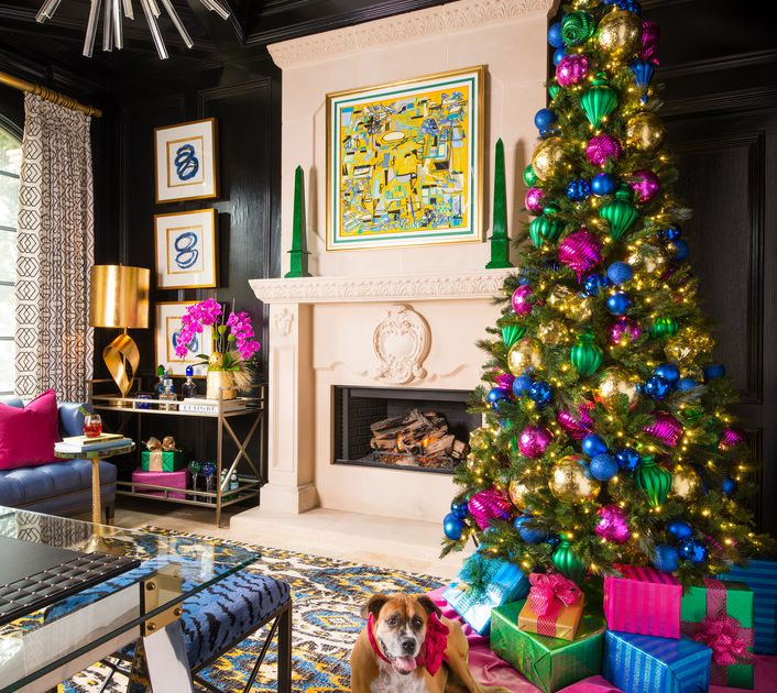 With 9 fully decorated Christmas trees, this Frisco designer's home is a colorful winter wonderland