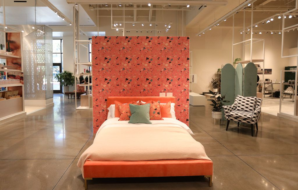 Even furniture can be purchased at Neighborhood Goods, the new concept store at Legacy West, in Plano.