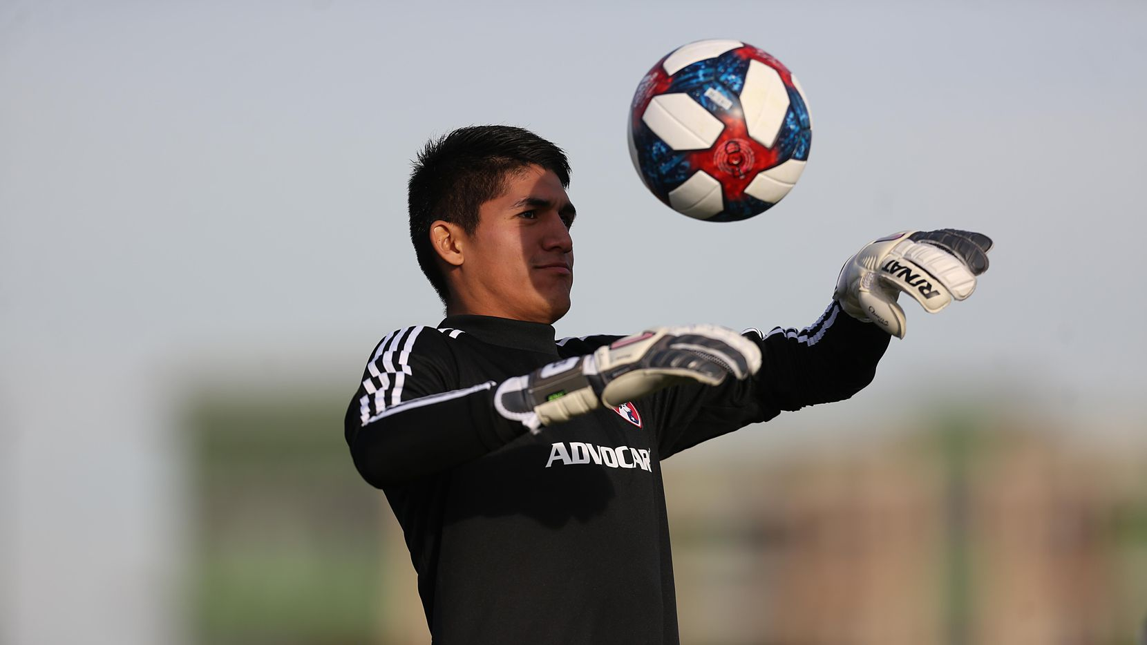 Carlos Avilez, portero del North Texas SC que compite en la United Soccer League (USL) League One.(OMAR VEGA/ ESPECIAL PARA AL DIA)