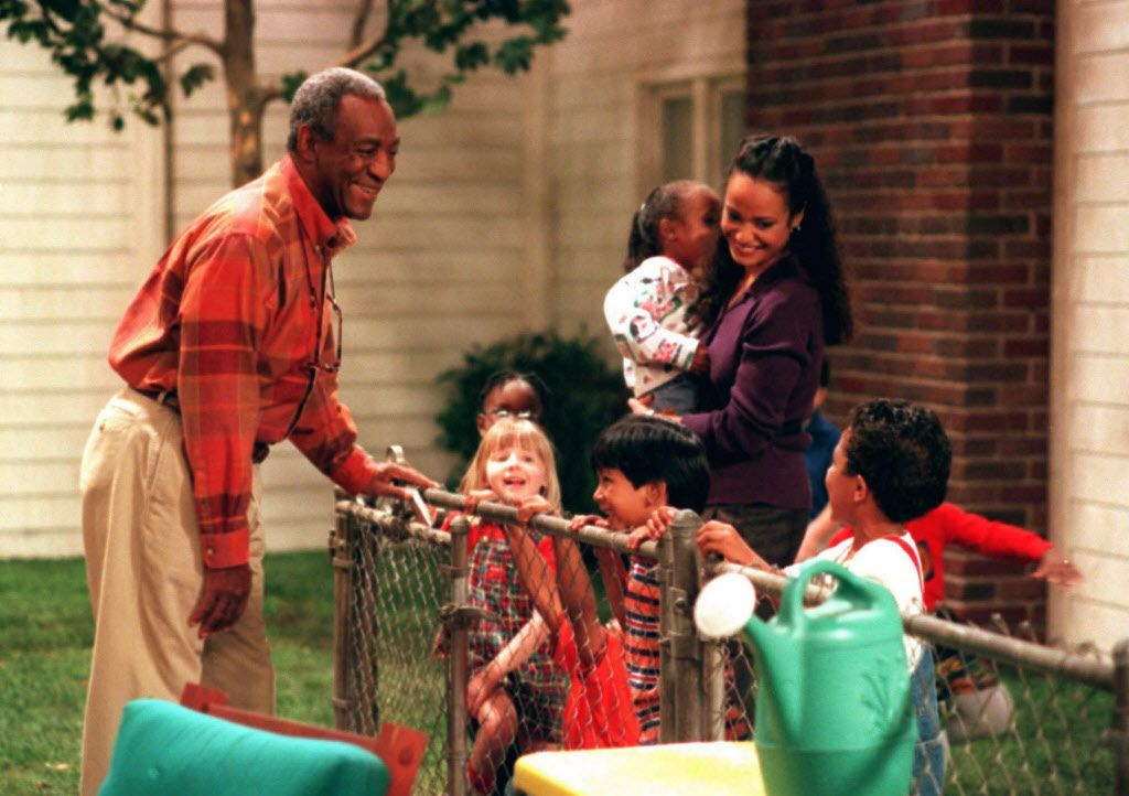 Hilton Lucas (Bill Cosby) clowns around with the mischievous four and five-year olds who attend the preschool located next door to his house, and their teacher Miss Caryn (Judy Reyes)  on the second season premiere of the hit comedy COSBY.
