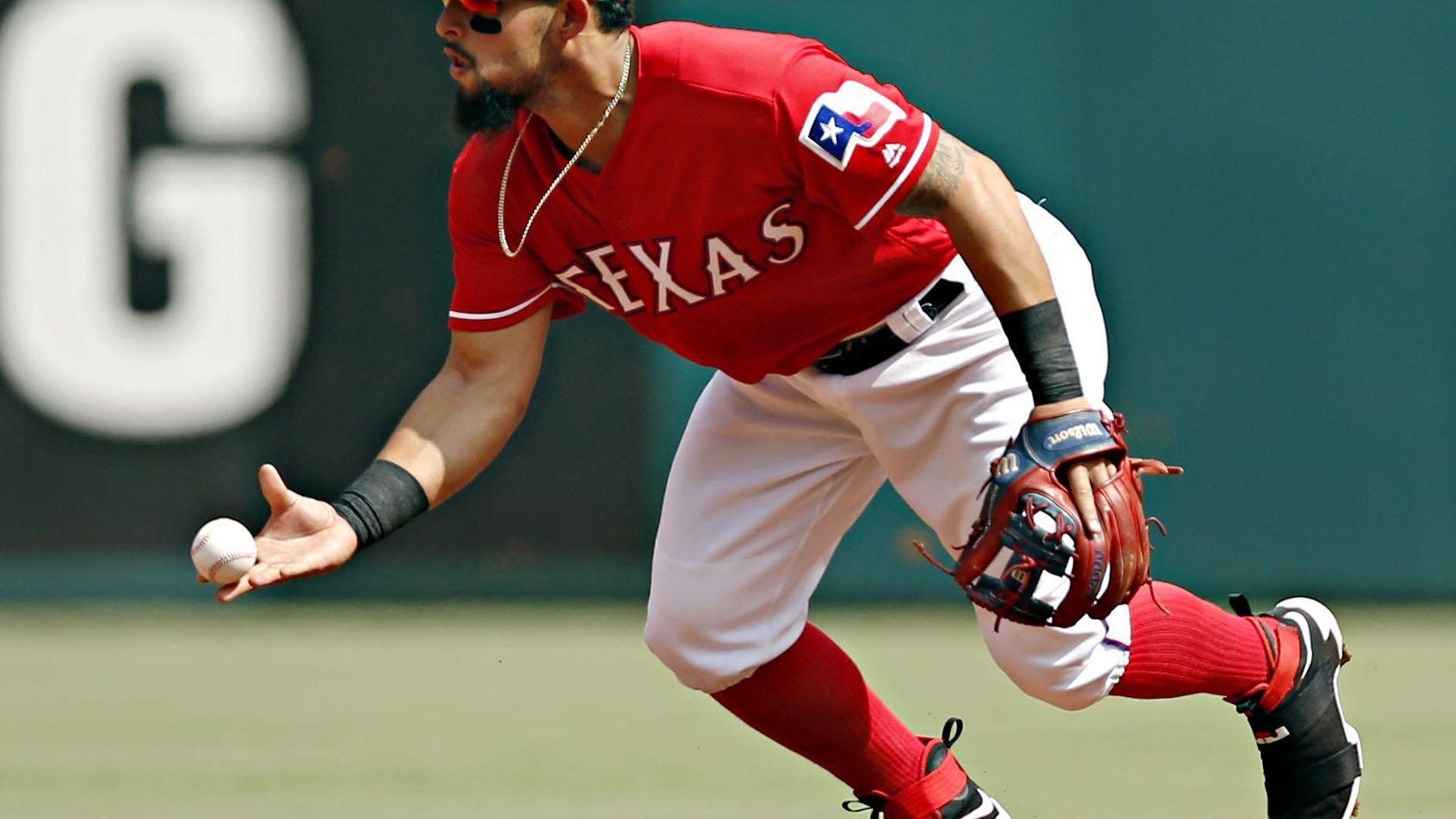 El segunda base Rougned Odor y Texas enfrentan a Houston, en una serie a cuatro juegos en Arlington. (DMN/G.J. McCarthy)