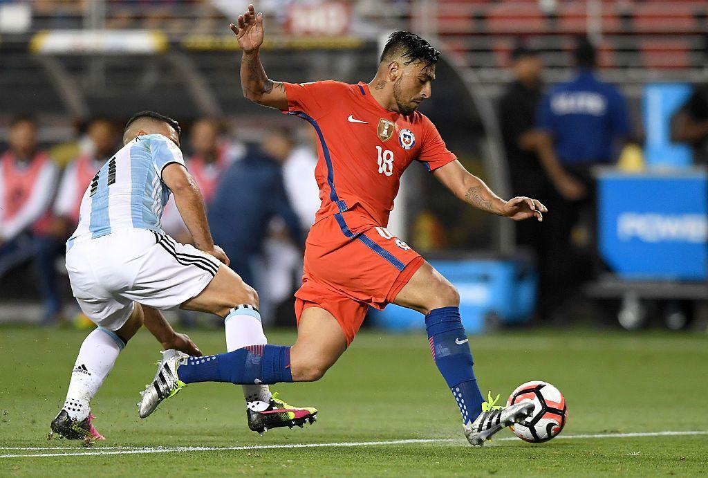 Argentina derrotó 2-1 a Chile en la fase de grupos de la Copa América Centenario. Foto GETTY IMAGES