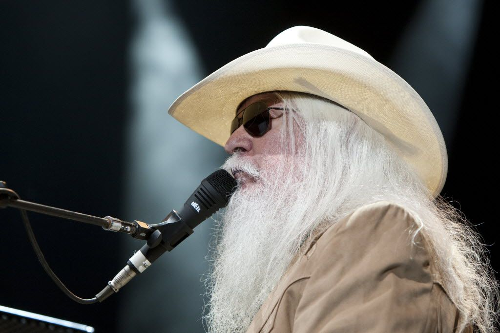 Leon Russell performed at the Fort Worth Convention Center in 2010.