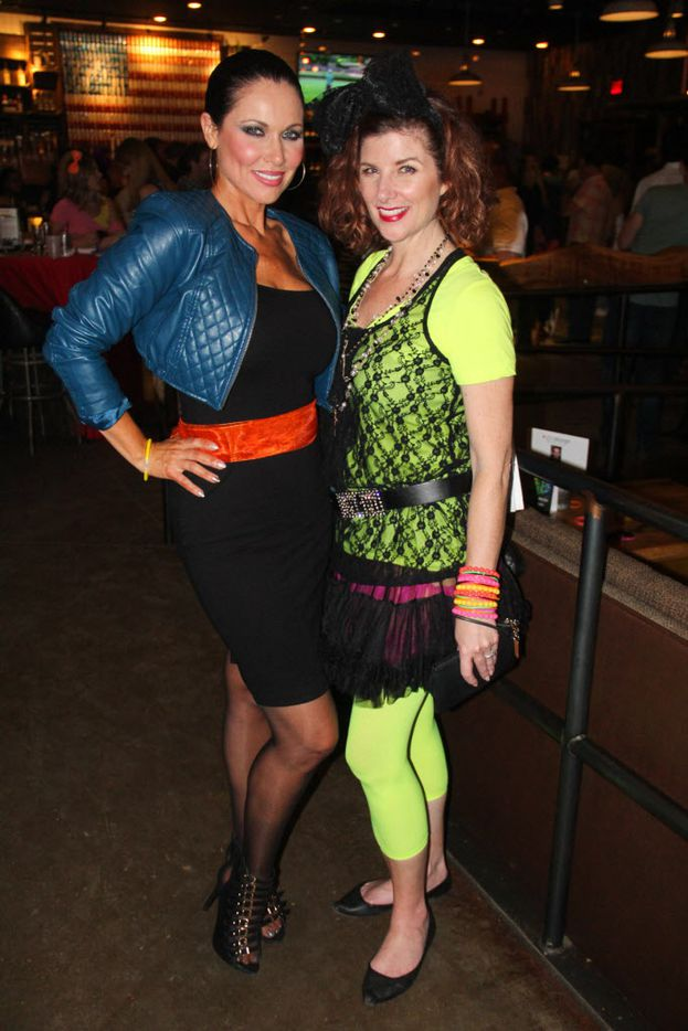 LeeAnne Locken and Cynthia Smoot attended the #TBT to the '80s party on Thursday at the Rustic.