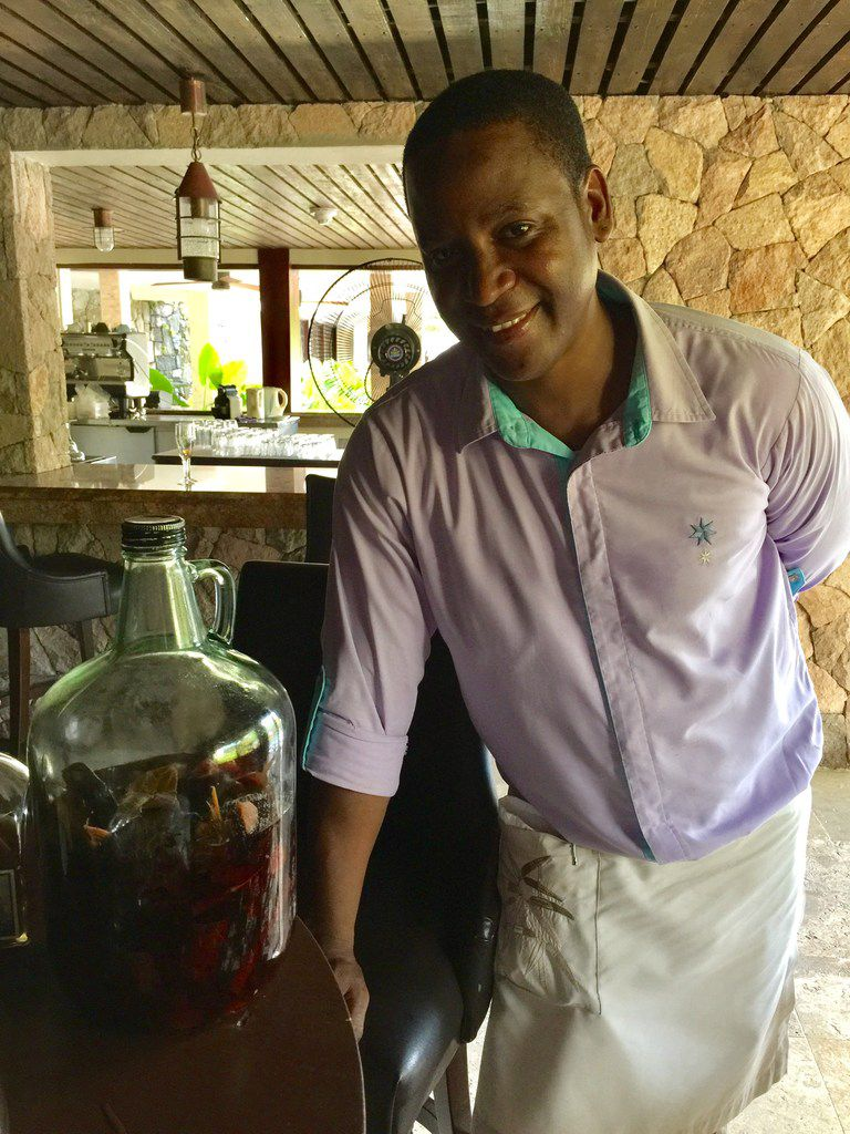 Enjoy a special early evening rum tasting event in the Rum Cave restaurant at Marigot Bay Resort & Marina by Capella in St. Lucia.