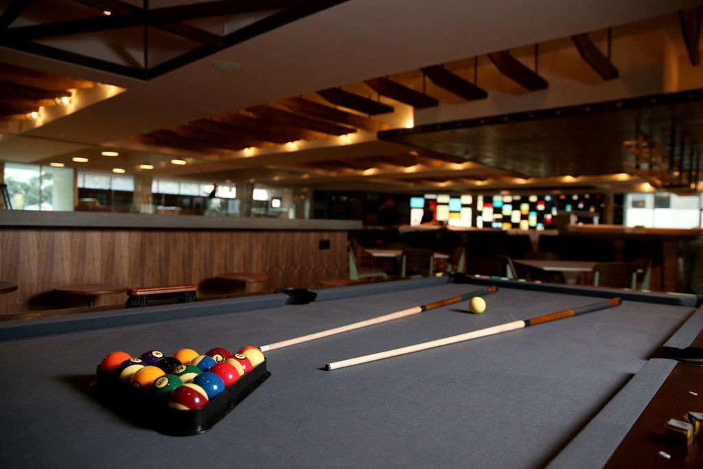 Scout has two pool tables for play. You can rent them for $10-$20 per hour, depending on the time of day.