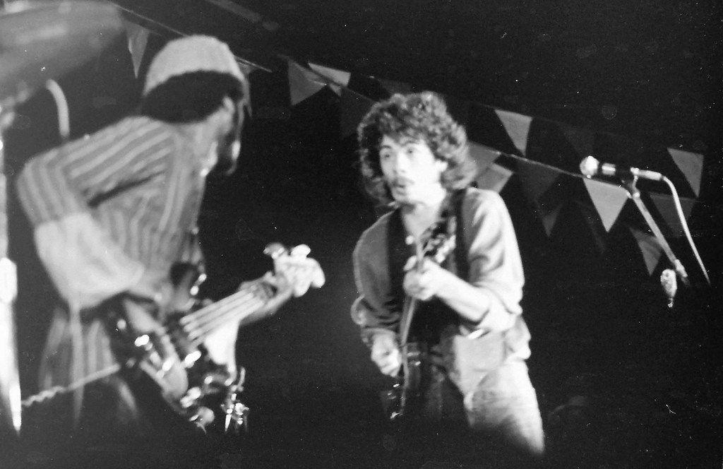 Carlos Santana, of Santana, performs at the Texas International Pop Festival, held on Labor Day weekend, 1969, at the Dallas International Speedway in Lewisville, Texas.