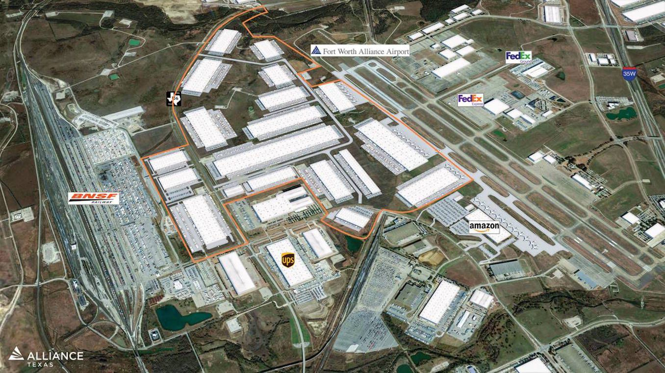 AllianceTexas developer Hillwood has purchased 600 acres on the west side of Alliance Airport.