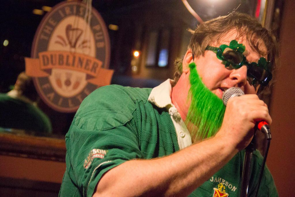 The Mumbles are a Dubliner St Patty's day tradition and drew a big crowd on Mar 17, in Dallas Texas and closed out the nightcap.