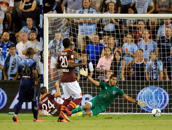 Fernández durante el MLS All-Stars 2013 (Jamie Squire/Getty Images)