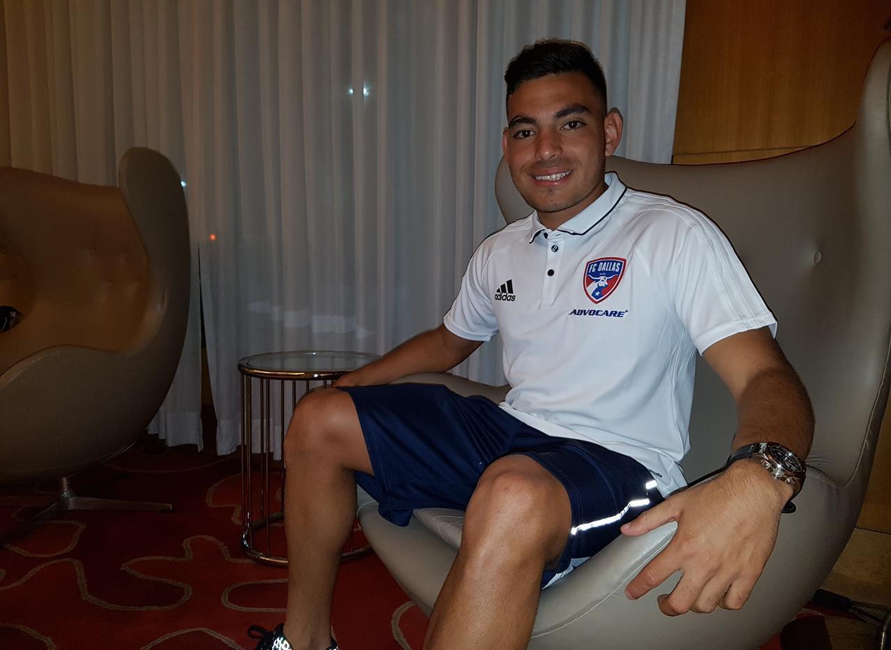 Carlos Cermeño, nuevo jugador del FC Dallas. Foto EMMANUEL QUISPE/ESPECIAL PARA AL DÍA
