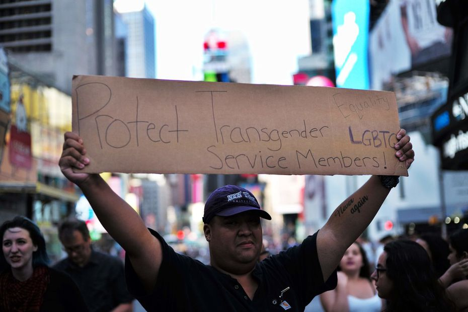The Supreme Court is allowing a Trump administration order to deny military service to transgender individuals to go forward as appeals against it continue.