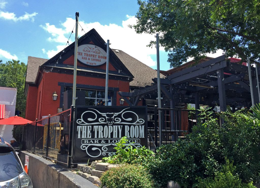The Trophy Room Bar & Lounge on McKinney Avenue