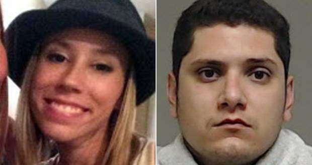 Enrique Arochi (der.) enfrentará juicio por el secuestro de Christina Morris (izq.) que sigue desaparecida. (Condado de Collin/CORTESÍA)
