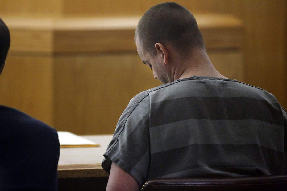 Matthew Gerth was sentenced to life in prison last month in a Dallas courtroom.